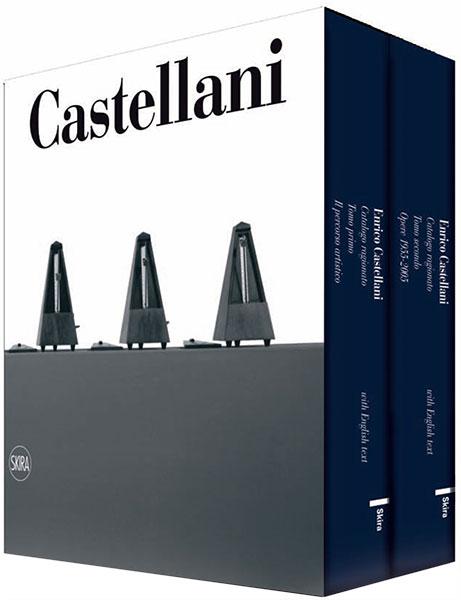 Copertina - Enrico Castellani. Catalogo Ragionato delle opere su tela, Renata Wirz, Federico Sardella, 2012, Skira Editore, Milano