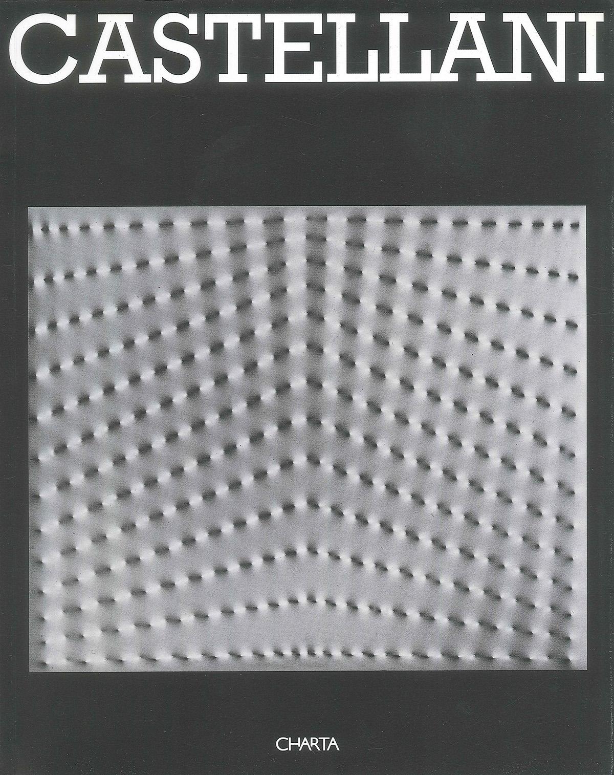Copertina - Castellani, Bruno Corà, 1996, Palazzo Fabroni, Charta Edizioni, Pistoia, Charta Edizioni