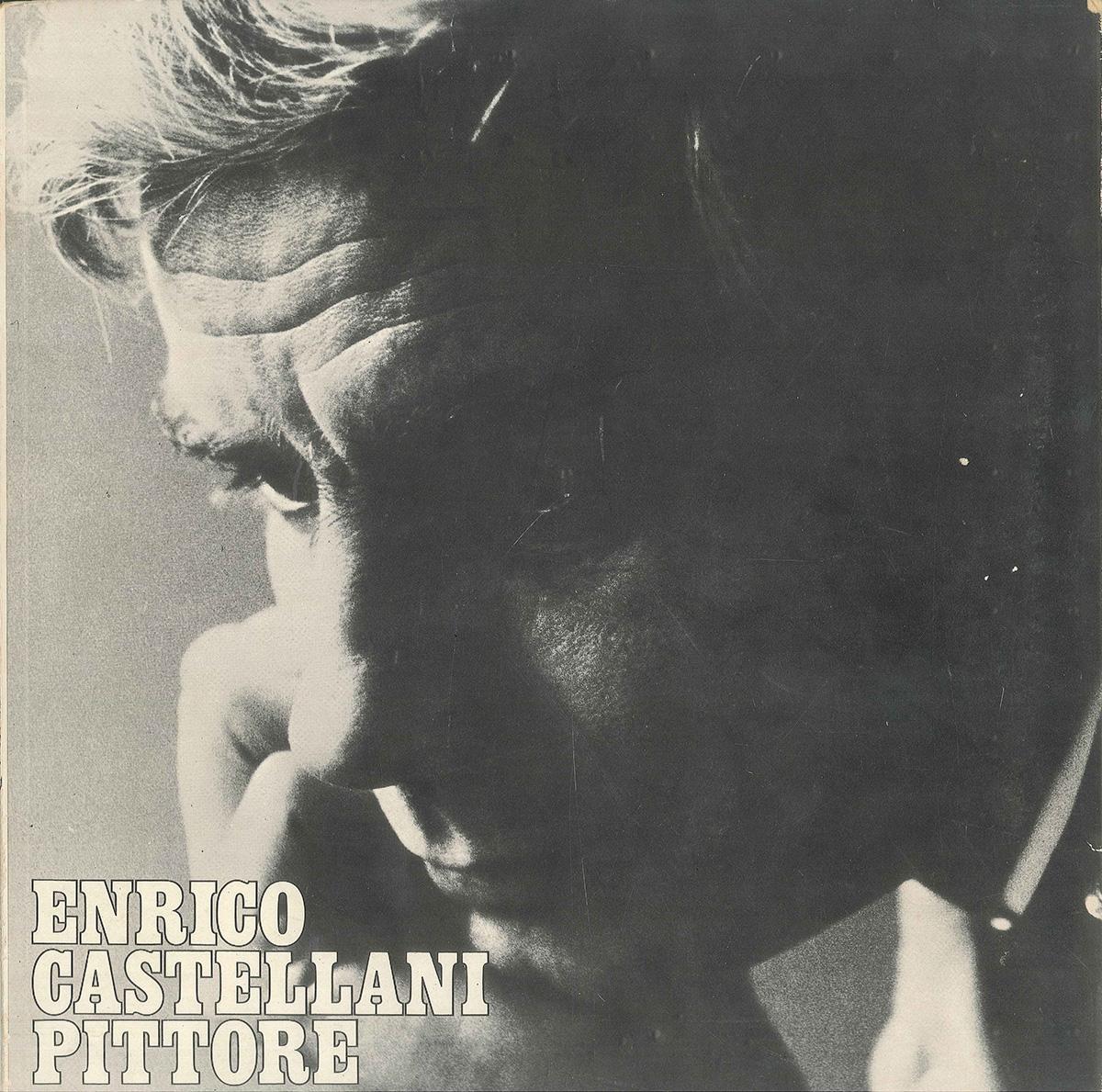 Copertina - Enrico Castellani Pittore, Vincenzo Agnetti, 1968, Achille Mauri Editore, Milano