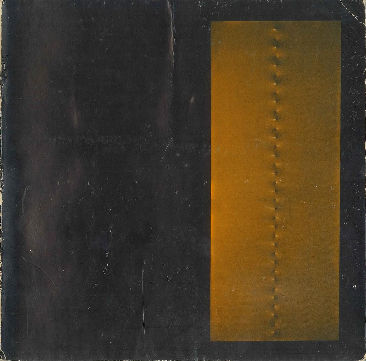 Copertina - Enrico Castellani, Achille Bonito Oliva, Arturo Carlo Quintavalle, 1976, Università di Parma, Centro Studi e Archivio della Comunicazione, Parma