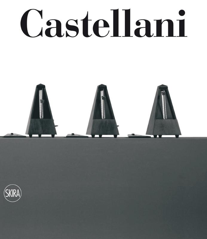 Cover - Enrico Castellani. Catalogo Ragionato delle opere su tela, Renata Wirz, Federico Sardella, 2012, Skira Editore, Milano