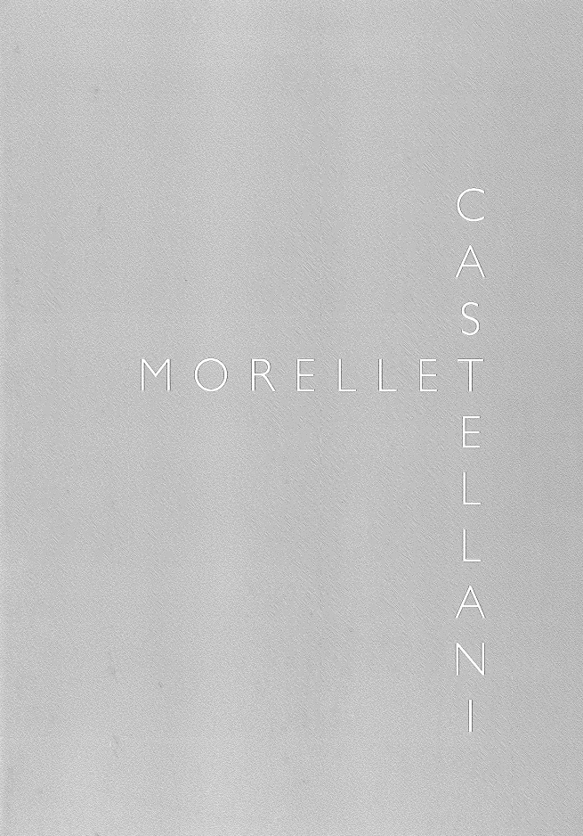 Copertina - Castellani, Morellet, Francesca Pola, Federico Sardella, 2009, A Arte Invernizzi Seragiotto, Padova